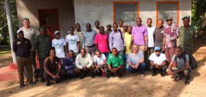 photo des membres de l'équipe OCP à EPULU