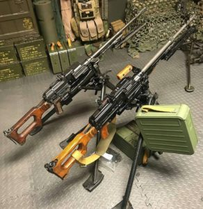 Ilustration des armes trouvées